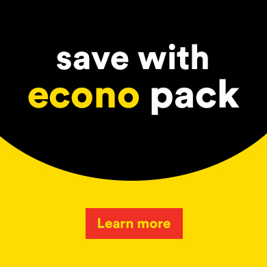 Save with econo pack - Learn more