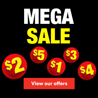 Mega Sale - View our offers