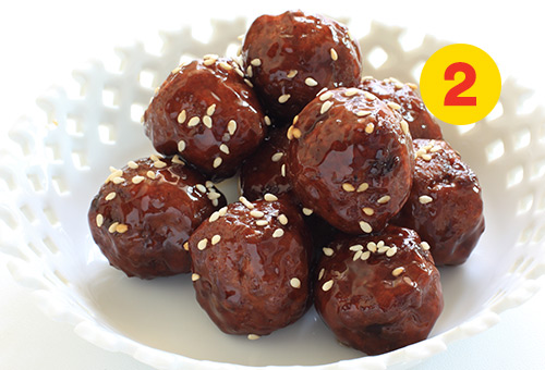 Simple Idea #2 for Ground Beef Meal: Easy Asian meatballs