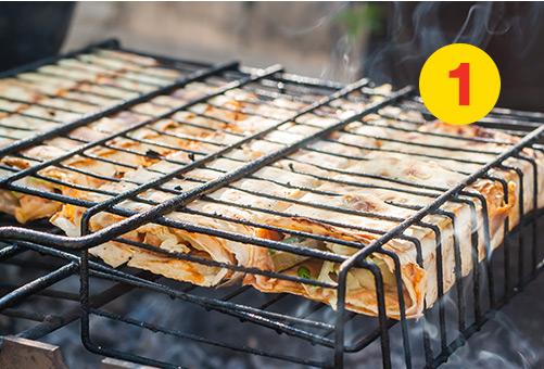 Idee Repas Barbecue.5 Idees Repas Faciles A Faire Sur Un Feu De Camp Super C