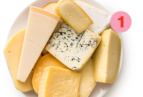 Tip #1: vary your cheeses