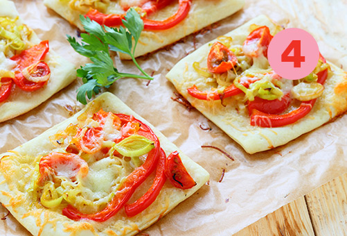 "Tip #4: the ""raclette pizza"""