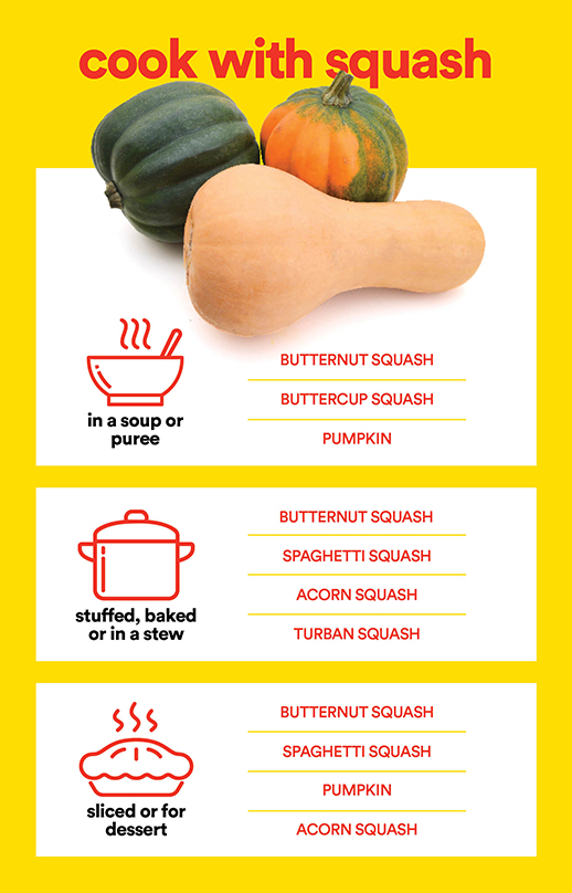 Cook with squash